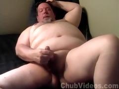 dad hung chubby bear