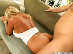 horny milan is a stud eating cougar