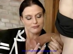 mother i with big tits makes slow love to pounder