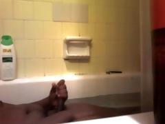 18 year old lad masturbation in bathroom