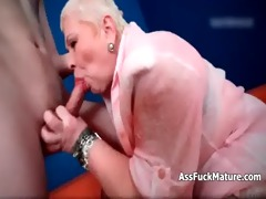 fat old older lady loves sucking young