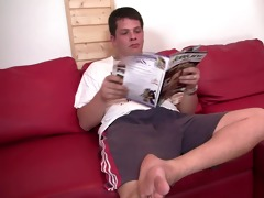 golden-haired in fishnets cuckolds old spouse