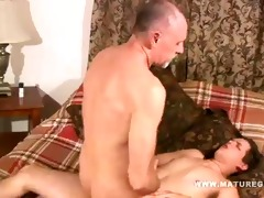 old guy acquires his wazoo fucked by juvenile cock