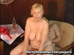 80 year old granny likes younger cocks!
