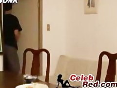 japanese sleeping housewife awaken an fucked by