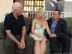 hotwife swinger makes hubby glad