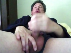 daddy jacking off early morning