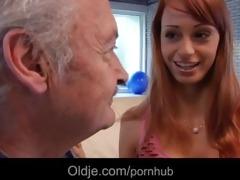 fortunate grandpa gustavo fucks super sexy