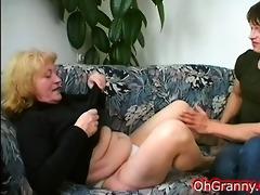 granny acquires fingered