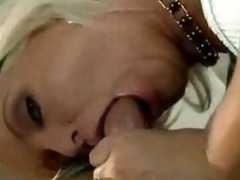 fabulous maya devine swallows cock