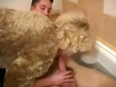 russian mother and young lad russian cumshots