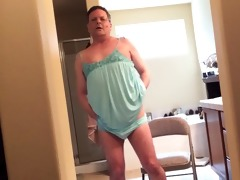 way-out daddy in lingerie