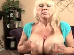 bawdy talking big titty granny fucking