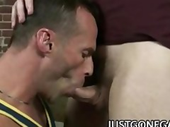 luke cross - muscular daddy fucking a pierced cock