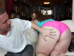 bbw milf jenna divyne copulates youthful stud
