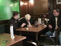 men pick up and fuck drunk grandma