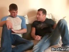 brothers sexy boyfriend gets shlong sucked part3