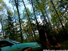 funny outdoor amateur fucking