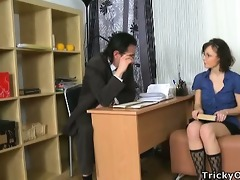 young coed tempted her teacher.