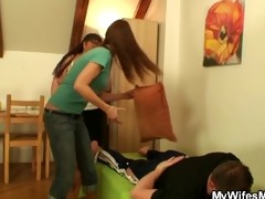 girlfriends chubby mother pleases her stud