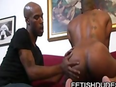 cuba santos and kamrun: muscle black ass worship