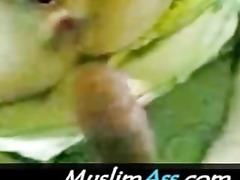 lovely arabian begum enjoys 4 inch arab jock in