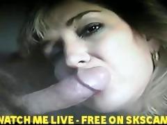 wife engulfing her boss
