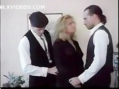 rare white and black man shares white girl pussy