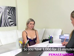 femaleagent milf acquires her hands on a hawt