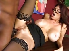 charlee chase copulates a younger darksome guy