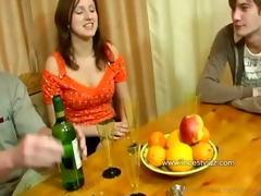 familysex - usual family dinner turns-into an sex