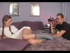 painfull legal age teenager anal stretching