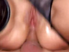 blond mother i anal fuck outdoor on tyres pile