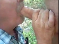 dad take teeth out to suck - reddbear69