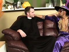 a pimp sodomizing a priest? this devilish