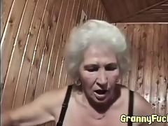 real horny granny bonks younger dude