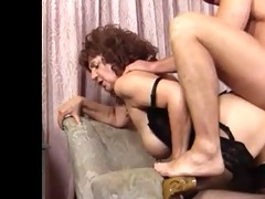 granny in stockings get a seeing to