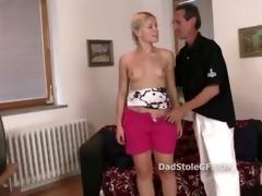 mature man bonks his sons girlfriend