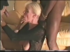older wife copulates hung dark man