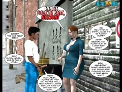 3d comic: the chaperone. movie scene 5