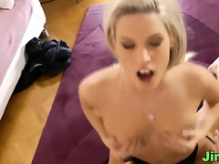 euro non-professional gets licked
