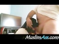priceless paki burqa niqab begum sucks 3 inch