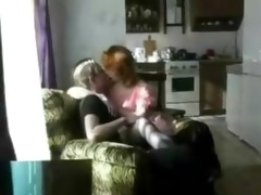 nasty russian mom with her sons ally