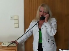 old grandma is picked up for a good fucking