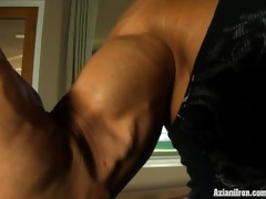 sexy muscle control and constricted juicy pussy