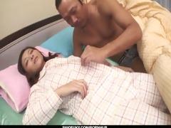 wicked and pervert dark haired babe minako uchida