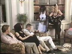 black maid banged for her mistresse