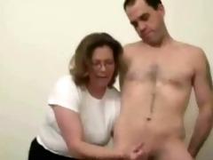 mature slut can to jerk stranger. dilettante older