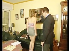young honey gets tutored by her principal