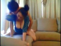 hot amateur wife screwed by younger boy at home